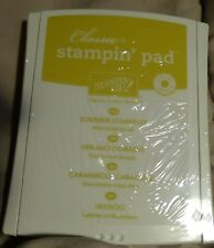 Stampin Up Classic Ink Pad SUMMER STARFRUIT, RASPBERRY RIPPLE New