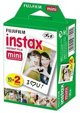Fujifilm Instax Mini Instant Film White For Fuji 7s 8 25 90 Polaroid 300 SP-1