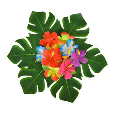Artificial Palm Leaves Tropical Hawaiian Luau Theme Party Decoration Palm Leaves
