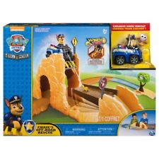 Genuine Nickelodeon Paw Patrol Roll Patrol - Chase's Off-Road Rescue Playset