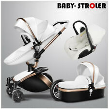 Foldable Baby Stroller 3 in1 High Landscape Travel Pram combo Pushchair&Car Seat