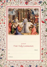 Church First Holy Communion Certificate