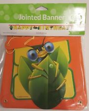 Party Banner Invites Bugs Insects Owls Ocean Fish Variety Happy Birthday NEW