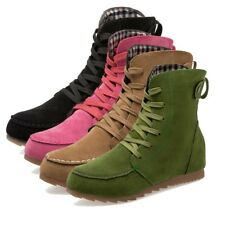 Winter Women's Ankle Boots Suede Solid Color Fur Lined Thicken Casual Warm Shoes