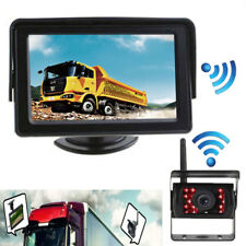 Wireless Rear View Backup Camera Monitor Kit for Truck