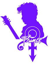 Prince Rogers Nelson -Prince with Symbol Decal + FREE Buy 1 Get 1