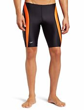 Speedo POWERFLEX Men's Rapid Splice Shinny Swim Jammer 2 Colors