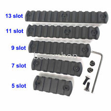5,7,9,11,13 slot Picatinny Section Rail KEYMOD type Black color edge Chamfering