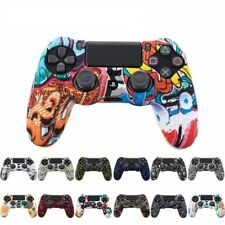 Silicone Rubber Gel Case Skin Cover For Sony PS4 Controller Grip Handle Console