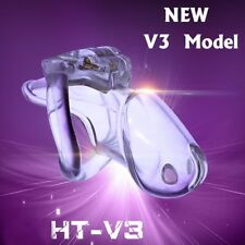 Clear Small Male Chastity Belt Keuschheitsgurte Holy Trainer V3