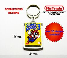 NES KEYRING double sided - Mario Bros Ice Climber Donkey Kong Duck Hunt Zelda ++
