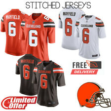 🔥 2019 NEW🔥 #6 Mayfield Baker Cleveland Browns Men's Stitched Limited Jerseys