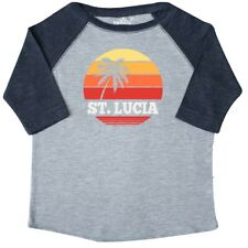 Inktastic St Lucia Vacation Travel Cruise Toddler T-Shirt Island Caribbean City