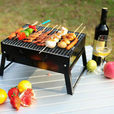 Large BBQ Charcoal Barbecue Grill Portable Outdoor Picnic Cooking Stove Tools