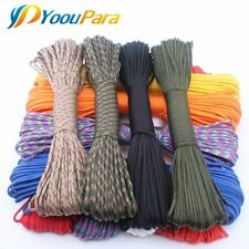 YoouPara 250 Colors Paracord 550 Rope Type III 7 Stand 100FT 50FT Paracord Cord