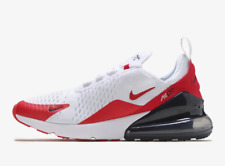 NIKE AIR MAX 270 MENS GYM COMFORTABLE RED/WHITE SNEAKER RUNNING SHOES CJ0550 100