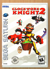 Clockwork Knight 2 - Sega Saturn - Replacement Case *NO GAME*