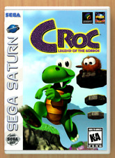 Croc Legend of The Gobbos - Sega Saturn - Replacement Case *NO GAME*