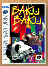 Baku Baku - Sega Saturn - Replacement Case *NO GAME*