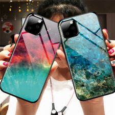 Luxury Gradient Tempered Glass Case Cover For iPhone 11 Pro Max XS XR X 8 7 Plus