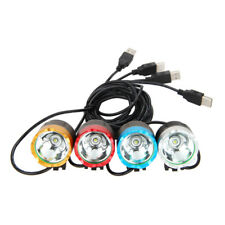6000lm 4.2V USB XML T6 LED Bicycle Bike Light Front Cycling Light Head 3-modes