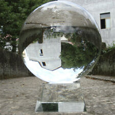 Clear Crystal Ball 80mm Glass Lens Sphere Photography Creative Gifts