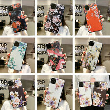For Apple iPhone 11 Pro Max 2019 Xs XR 7 8 Flower Pattern Soft Rubber Case Cover
