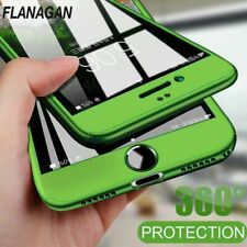 Flanagan 360 Degree Phone Cases For iPhone 6 7 8 Plus Case With Tempered Glass