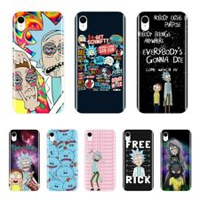 Rick And Morty Cartoon Patterned Phone Cases For iPhone X XR XS MAX 8 7 6S 6 S