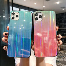Luxury Gradient Glass Phone Case Cover For iPhone 11 Pro Max XS XR X 6S 7 8 Plus