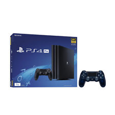 PlayStation 4 1TB Jet Black 4K HDR Gaming Console + an Extra Wireless Controller