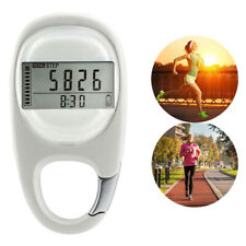 3D Pedometer Simple Step Counter Walking Large Display with Key Chain Clip