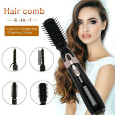 4in1 One Step Hair Dryer Volumizer Brush Straightening Curling Iron Comb Styling