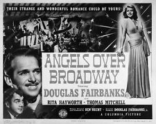 7972-18 Douglas Fairbanks Jr. Rita Hayworth film Angels Over Broadway 7972-18 79