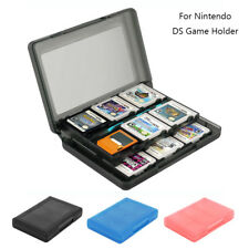 24DS Game Card Case Holder Cartridge Storage Box for Nintendo 3DS 3 colors