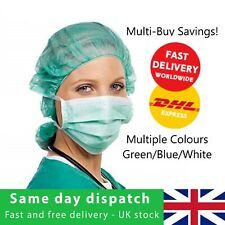 HOSPITAL GRADE 3PLY DISPOSABLE SURGICAL FACE MASKS MEDICAL VIRUS FLU SMOG
