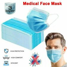 10/20/50PCS* DISPOSABLE SURGICAL EARLOOP FACE SALON DUST CLEANING Medical