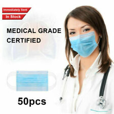10-100x Disposable Face Surgical Medical Dental Industrial Fast ND ÖÖ