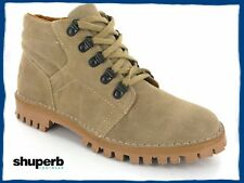 MENS ORIGINAL SUEDE DESERT BOOTS TAUPE/SAND Sizes 6-12