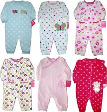 BABY GIRLS CARTERS WARM FLEECE ROMPER CREEPER OUTFIT CHILDRENS CLOTHES KIDS