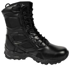 Black Forced Entry Deployment Combat Boots