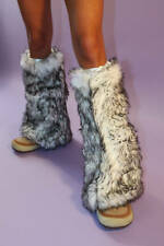 Super Soft faux Fur Fluffies / Leg Warmers in 7 colors
