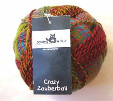Zauberball CRAZY Sock Yarn 100g ball Selected Colors