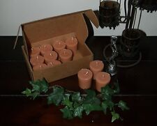"Soy Votive Candles 12 Pk Box Kitchen Food Scents ""R-W"" Seasons of the Earth"