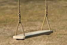"Premier Wood Tree Swing 24 "" x 9 1/4"" x 1 1/2"" and Rope"