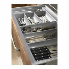 Cutlery Trays Suits Tandembox Kitchen Draw Silver Gloss