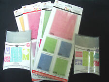 SIZZIX  Textured Impressions Embossing Die Choose Set Your Choice New A2