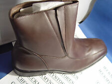 NIB $95 NEW Fitzwell Jasper Men's Brown Ankle Boots