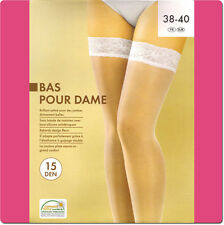 Quality High Thigh Stocking With Stay-Up Lace Top D15