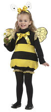 Girls Bizzy Busy Lil Bee Costume 12-18M 18-24M 3-4T
